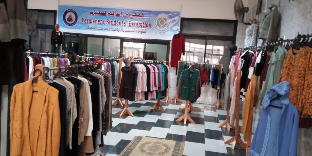 الاعداد لافتتاح المعرض الدائم للطلاب بجامعة المنصورة